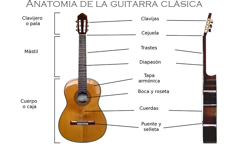 La guitarra clasica