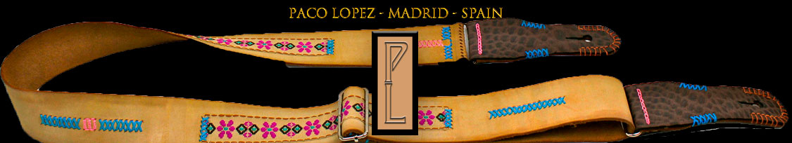 Paco Lopez Straps