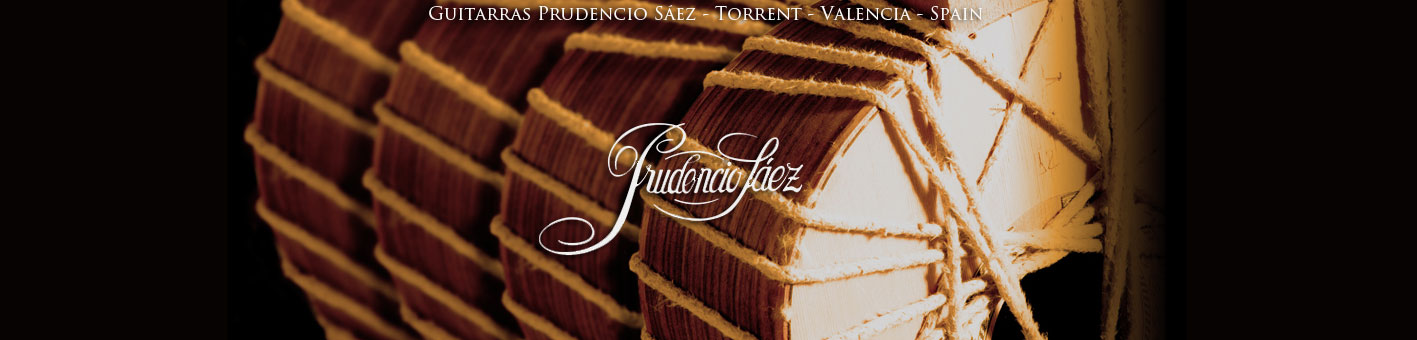 Prudencio Saez guitars