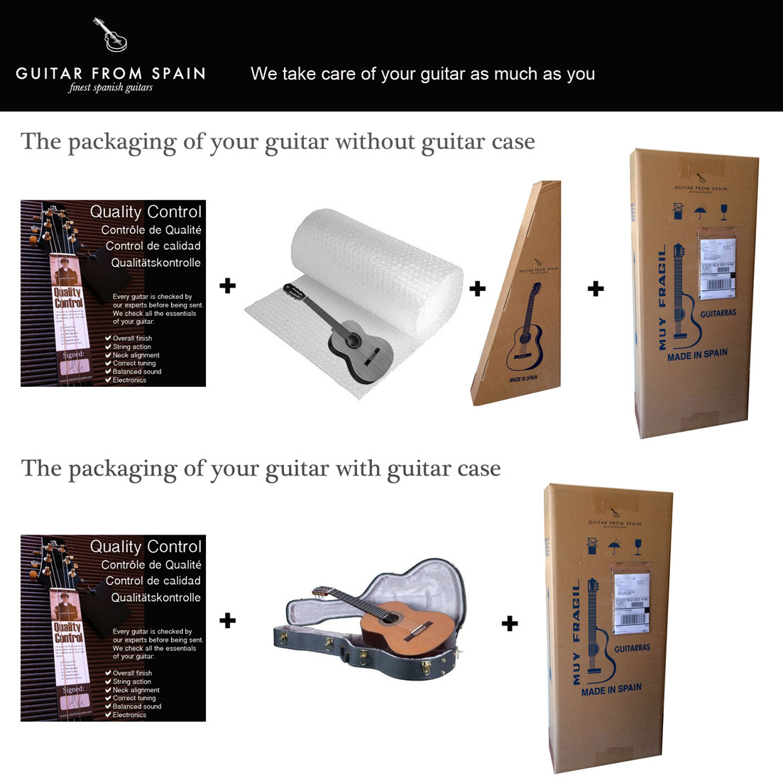 guitar packaging