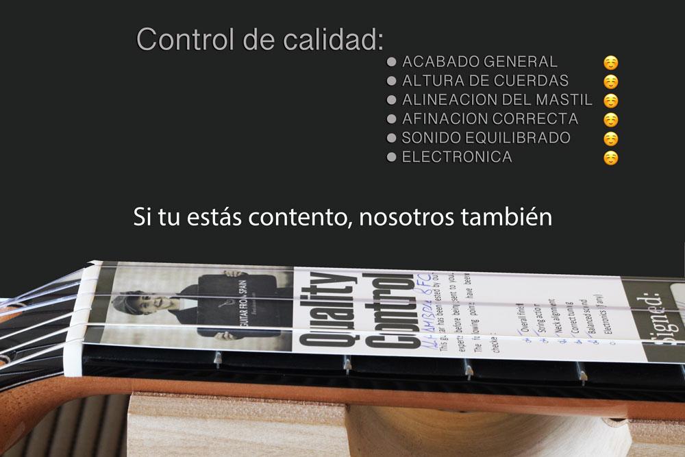 Quality control Spanish
